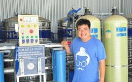 Đầu tư gần 200 triệu mua máy lọc nước mặn thành ngọt tặng miễn phí cho dân