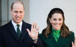 Hoàng tử William nói đùa mình và công nương Kate đang 'lan truyền virus corona'