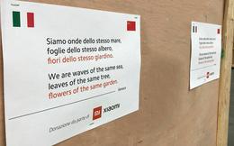 Xiaomi quyên tặng khẩu trang cho Italy giữa thời điểm COVID-19 bùng phát