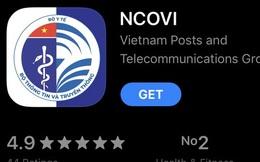 Ứng dụng NCOVI khai báo y tế toàn dân chính thức có mặt trên iOS