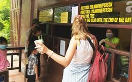 Ninh Bình: Khu du lịch Tràng An từ chối du khách không đeo khẩu trang khi đến mua vé