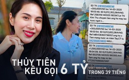Sau 39 giờ kêu gọi, Thuỷ Tiên thông báo nhận được số tiền khủng hơn 6 tỷ đồng hỗ trợ bà con miền Tây vượt qua hạn mặn