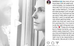 Clip 2,5 triệu view gây bão giữa mùa dịch: Siêu mẫu Heidi Klum hôn chồng qua cửa kính với ánh mắt nồng nàn vì bị cách ly