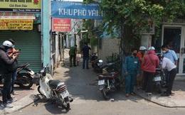 TP.HCM: Lực lượng chức năng phong toả đường, cách ly 6 hộ dân trong con hẻm quận Gò Vấp vì có người nghi nhiễm Covid-19