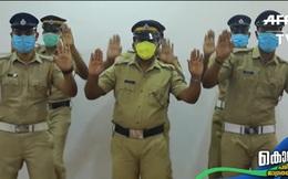 Cảnh sát Ấn Độ nhảy 'vũ điệu rửa tay' tuyên truyền người dân thay đổi thói quen vệ sinh trong đại dịch Covid-19 gây sốt MXH