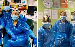 """Bệnh viện London """"thất thủ"""" vì Covid-19, y tá kiệt sức trùm túi rác làm việc do đồ bảo hộ thiếu trầm trọng"""