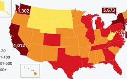Mỹ tăng kỷ lục, đứng thứ 3 thế giới về số người nhiễm virus corona