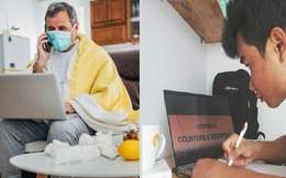 """Thế giới chuyển """"trạng thái online"""" vì dịch bệnh Covid-19: Người người """"tự cách ly"""", mua sắm, làm việc đều qua mạng để bảo vệ sức khỏe và thắt chặt tình cảm gia đình"""