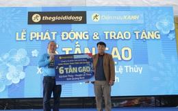 """Thế Giới Di Động khởi động chương trình """"Tết sẻ chia"""": trao tặng 1.000 tấn gạo đến 50.000 hộ gia đình trên khắp Việt Nam"""