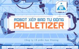 Robot Xếp Bao Palletizer và ứng dụng hiệu quả trong thực tiễn