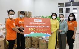 ShopeeFood và Hội Liên hiệp Phụ nữ TP.HCM trao 1.000 giỏ quà nhân ngày 20/10