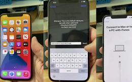 iPhone 12 Lock không thể hoạt động được tại Việt Nam