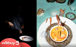 2 nhà hàng lạ lùng chỉ có ở Sài Gòn: Nơi muốn ăn phải… mò, nơi đồ ăn nhảy từ màn hình ra đời thực