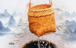 Bị yêu cầu khó Dùng giỏ thưa múc nước, người đàn ông trả lời sâu cay bằng bài học: Mạnh thì dùng sức, yếu thì ta dùng mưu!