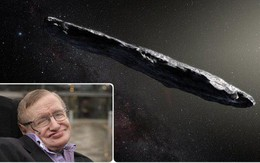 Đến Stephen Hawking cũng nghi thiên thạch hình điếu cigar là tàu vũ trụ của người ngoài hành tinh, và mọi chuyện đều có lý do