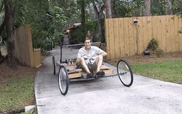 Đâu cần ô tô Tesla đắt tiền, anh chàng này tự chế xe năng lượng sạch bằng một chiếc bẫy chuột khổng lồ