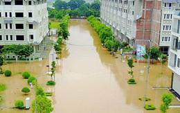 """Hà Nội lắp trạm bơm """"cứu"""" khu đô thị cứ mưa là ngập"""