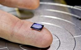 Đây là chiếc máy tính nhỏ nhất thế giới, chỉ bằng hạt muối
