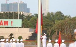 Lễ thượng cờ rủ tại quảng trường Ba Đình tưởng nhớ cố Thủ tướng Phan Văn Khải