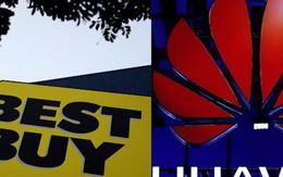 """Hãng bán lẻ hàng đầu Mỹ cắt quan hệ với """"đại gia"""" Trung Quốc Huawei?"""