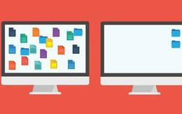 Khoa học chứng minh màn hình máy tính gọn gàng giúp bạn hạnh phúc và có hiệu suất cao hơn
