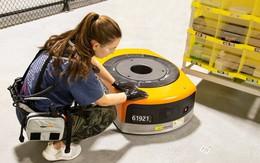 Amazon chế tạo thiết bị đặc biệt giúp công nhân không bị robot đâm phải