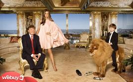 Ngắm căn Penthouse trăm triệu USD của TT Donald Trump: Dát vàng 24K mọi nơi, chi phí bảo an tốn cả triệu USD mỗi ngày