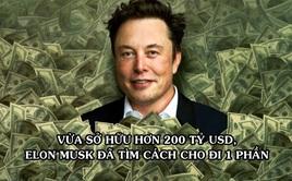 Elon Musk tìm cách cho đi một phần của cải khi vừa trở thành người giàu nhất thế giới với tài sản hơn 200 tỷ USD