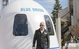 Jeff Bezos tính phí 300.000 USD cho một chuyến du hành vào vũ trụ