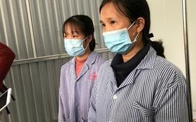 Mẹ và em gái nữ công nhân trở về từ Vũ Hán được xuất viện sau 15 ngày điều trị COVID-19:
