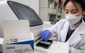 Hàn Quốc xem xét đưa vào sử dụng bộ dụng cụ xét nghiệm virus corona tại nhà cho kết quả chỉ sau 10 phút