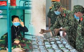 Cận cảnh bên trong khu cách ly người Việt từ