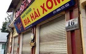CLIP: Nhiều quán bia lớn ở Hà Nội đóng cửa vì chịu