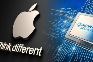 """Qualcomm tố Apple đánh cắp mã nguồn của họ rồi đem """"tặng"""" cho Intel"""