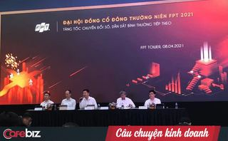 Có sẵn 17.000 tỷ đồng tiền tươi, tại sao FPT chỉ chia cổ tức 1.600 tỷ cho cổ đông?