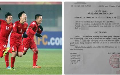 Quyết định cho nhân viên nghỉ xem U23 Việt Nam đá bán kết: Tổng giám đốc công ty lên tiếng