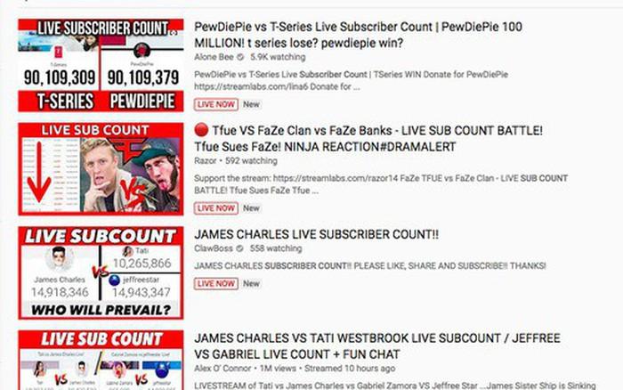 Trước nạn đua sub và hô hào bỏ đăng ký, YouTube sẽ đổi cơ chế