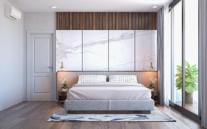 Mẫu biệt thự 1 tầng 3 phòng ngủ đẹp mắt, hiện đại và sang trọng
