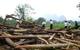 Lốc xoáy đầu mùa ở Yên Bái: 9 người bị thương, hàng trăm ngôi nhà bị đổ, thiệt hại hơn 1,6 tỷ đồng